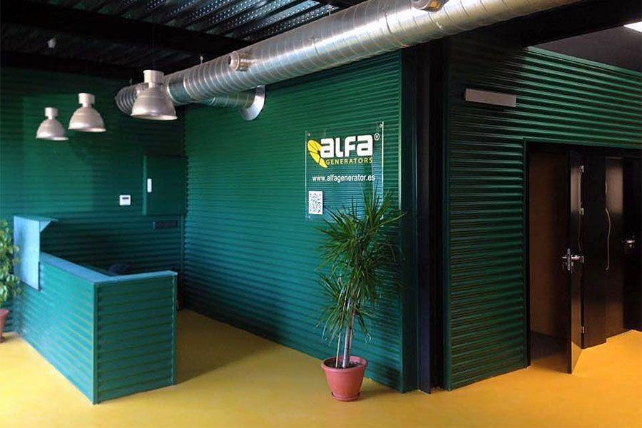 Alfa Generators recepción