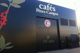 Cafés Pérez Campos fachada