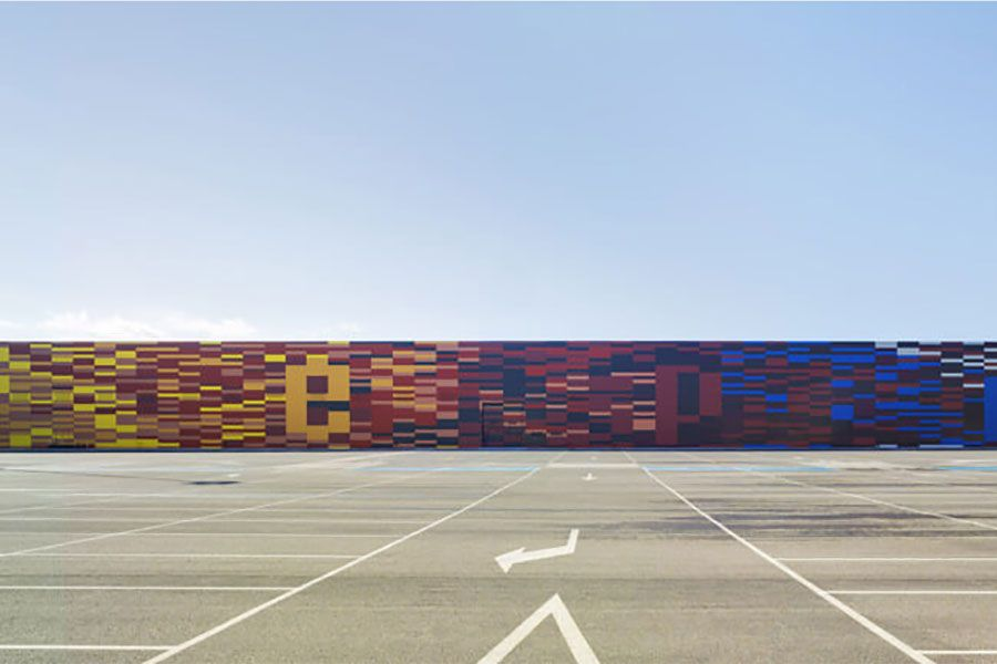 Ifepa fachada aparcamiento