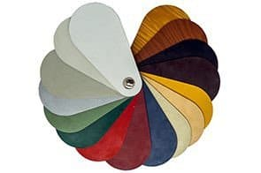 Muestra de colores de panel sándwich