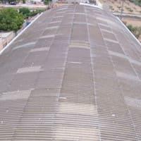 Reparación de cubiertas de uralita