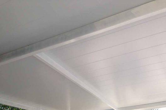 Panel sándwich de fachada semi liso
