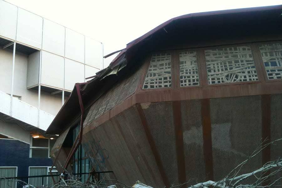 Reparación de cubiertas