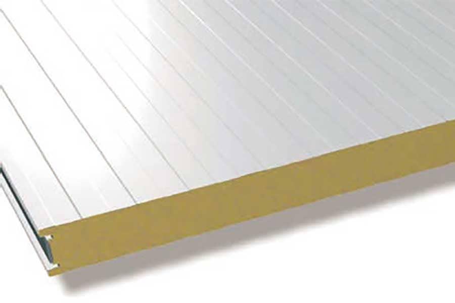 Panel sándwich de fachada frigorífico