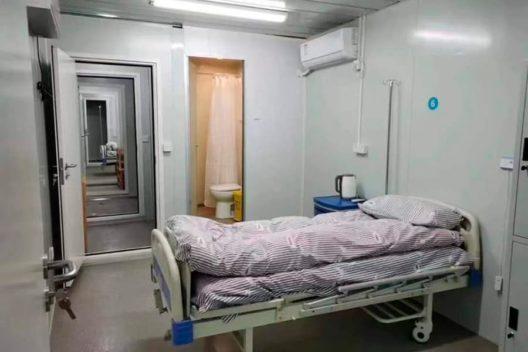 Habitación de panel sándwich en hospital