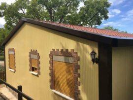 Casa de campo construida con panel sandwich