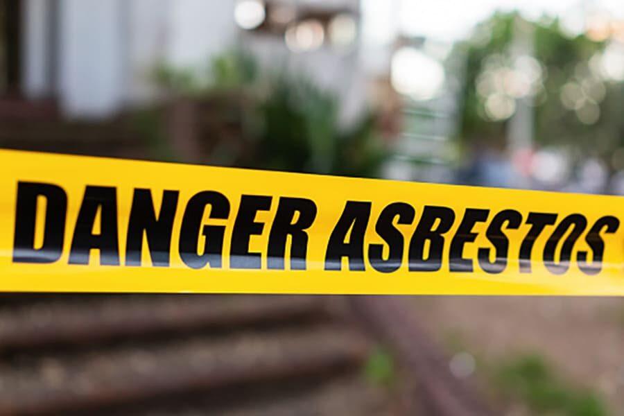 Peligro asbestos