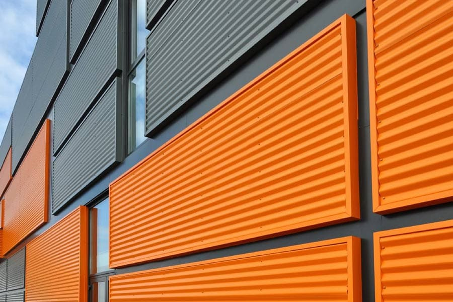 Panel fachada para vivienda